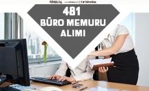 Büro Memuru Kadrosunda 481 Personel Alımı Başvuru Şartı ve Detaylar!