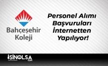 Bahçeşehir Koleji Personel Alımı Başvuruları İnternetten Yapılıyor!