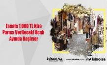 Esnafa 1.000 TL Kira Parası Verilecek! Ocak Ayında Başlıyor