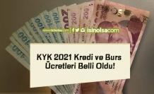 KYK 2021 Kredi ve Burs Ücretleri Belli Oldu!