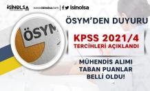 ÖSYM KPSS 2021/4 Sonuçları Açıklandı! Mühendis Taban KPSS Puanı Kaç?