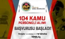 VGM 104 Temizlik ve Güvenlik Görevlisi Alımı Başvurusu Başladı! İşte Şatlar