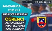 Jandarma 2021 Yılı Subay ve Astsubay Öğrenci Alımı Yapacak mı? Taban YKS Puanı Kaç?