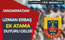 Jandarma'dan Uzman Erbaş Ek Atama Duyurusu Yayımlandı!