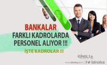 2021 Yılı Banka Personel Alımları - Tüm Bankalar