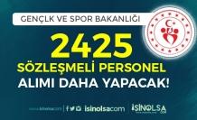 Gençlik ve Spor Bakanlığı (GSB) 2425 Sözleşmeli Personel Alımı Daha Yapacak!