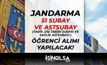 Jandarma ( JSGA ) 51 Tabip, Diş Tabibi Subayı ve Sağlık Astsubayı Alımı İlanı