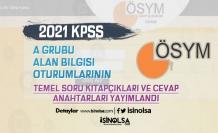 ÖSYM 2021 KPSS A Grubu Soru Kitapçığı ve Cevapları Yayımladı