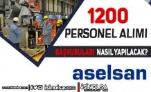 ASELSAN 1200 Mühendis ve Teknisyen Alımı Başvurusu Nasıl Yapılacak?