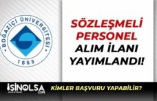 Boğaziçi Üniversitesi KPSS Puanı İle 5 Kamu Personeli Alacak