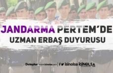 Jandarma PERTEM 'de 2019-1 Grup Uzman Erbaş Duyurusu Yapıldı!