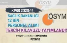 ÖSYM KPSS 2020/14 Sağlık Bakanlığı Tercih Kılavuzu Yayınlandı!