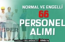 İstanbul İSPER Normal ve Engelli 66 Personel Alımı İlanı Yayımladı