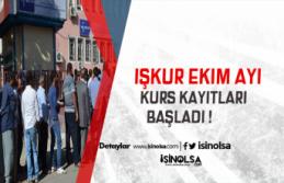 İŞKUR'un İstihdam Garantili Kursları Başladı !