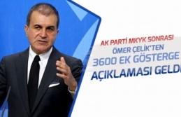 MKYK Sonrası Ömer Çelik'den 3600 EK Gösterge ve Af Açıklaması Geldi!