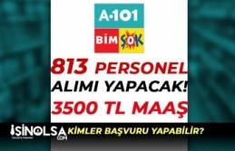 Zincir Marketler ŞOK, BİM, A101 3500 TL Maaş İle...