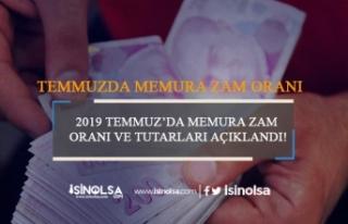 2019 Temmuz'da Memura Zam Oranı ve Tutarları Açıklandı
