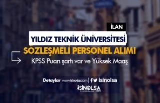 Yıldız Teknik Üniversitesi Sözleşmeli Personel...