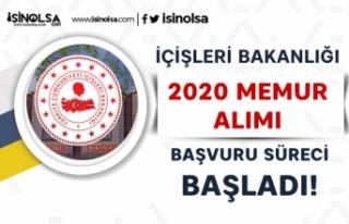 İçişleri Bakanlığı 2020 Memur Alımı e-Devlet...