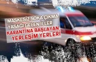 11 Mayıs İtibari ile Maske Kullanma Yasağı ve...