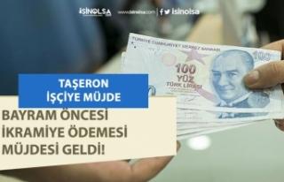 14 Bin Taşeron Çalışanına Bayram Öncesi İkramiye...