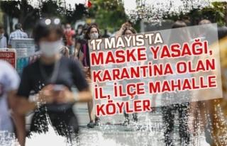 17 Mayıs Karantina Başlayan ve Maskesiz Dışarıya...