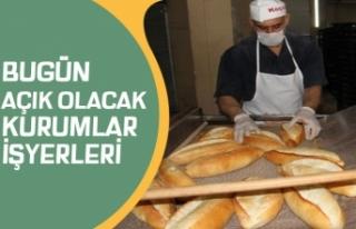 1 Mayıs'ta Marketler Açıkmı! PTT, Kargo, Fırın,...
