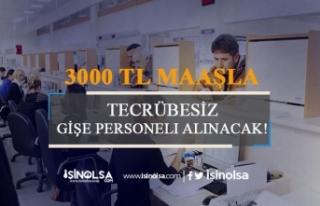 3 Banka 3500-4000 TL Maaşla Tecrübesiz Gişe Yetkisi...