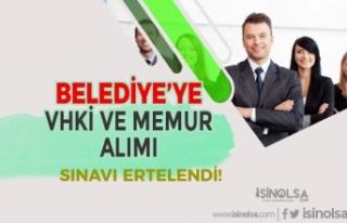 55 KPSS Puanı İle Belediye'nin VHKİ ve Memur...