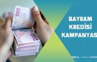 Bayram Kredisi Kampanyası! Halkbank, Vakıfbank'tan...