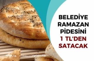 Belediye Halk Ekmek Ramazan Pidesini 1 Tl'den...