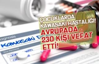 Çocuklarda Görülen Kawasaki Hastalığından 230...