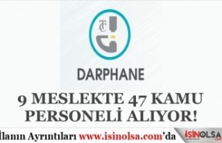Darphane ve Damga Matbaası 9 Meslekte 47 Kamu İşçisi...