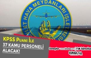 DHMİ KPSS Puanı İle 37 Hava Trafik Kontrolörü...