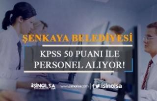 En Az 50 Puan ile Belediyelere Memur Alınacak!