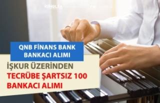 Finansbank İŞKUR'dan 100 Bankacı Personel...