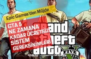 GTA 5 Ne Zamana Kadar Ücretsiz! Epic Games Store...