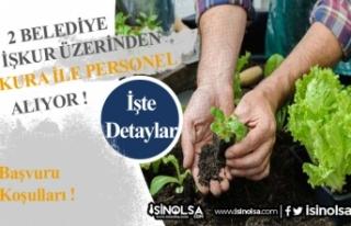 İŞKUR Üzerinden 2 Belediye Kura ile İlkokul Mezunu...