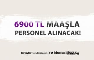 İŞKUR 6900 TL maaşla işçi alımı başladı!
