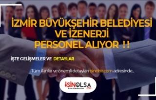 İzmir Büyükşehir ve İZENERJİ KPSS Şartsız...