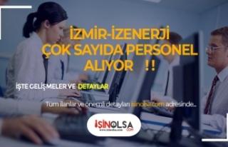 İzmir İzenerji Müzisyen, Büro Personeli, Web Tasarımcı...