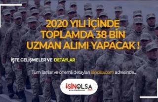 Jandarma Genel Komutanlığı 2020'de 38 Bin Uzman...