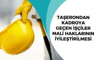 Kadroya Geçen Taşeron İşçiler Mali Hakların...
