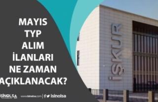 Kamuya Mayıs Ayı Toplum Yararı Programı TYP İlanları...