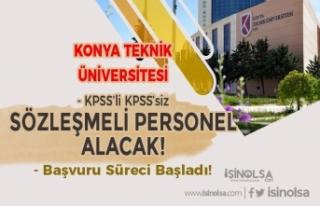 Konya Teknik Üniversitesi KPSS'li KPSS'siz...
