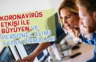 Koronavirüs Nedeniyle Personel Alımı Artan Sektör...