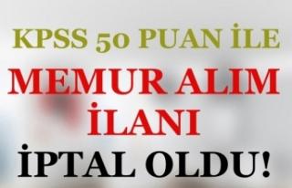 KPSS 50 Puan İle Sağlık Teknikeri, İtfaiye Eri...