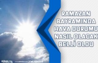 Meteoroloji Genel Müdürlüğü Ramazan Bayramında...