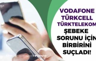 Operatörler Çöktü! Vodafone, Türkcell ve Vodafone...