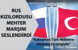 Rus Kızıl Ordusu Mehter Marşı İle Türkiye'ye...